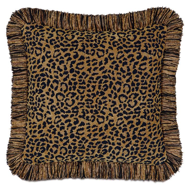 Congo Black & Gold Pillow C
