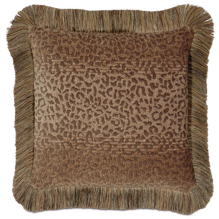 Congo Gold & Sage Pillow C