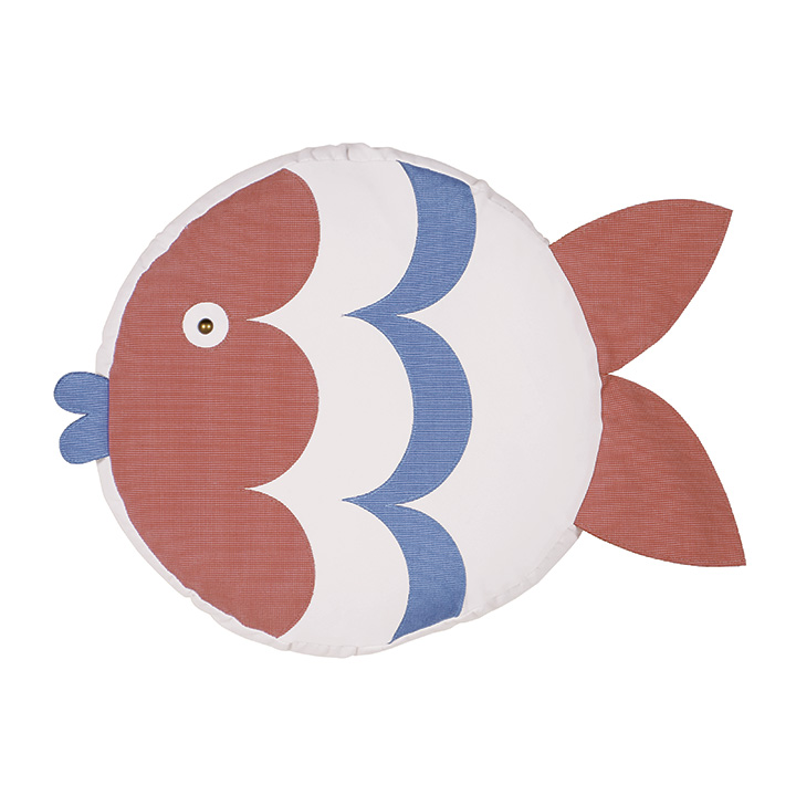 Pez Fish Decorative Pillow (Right)