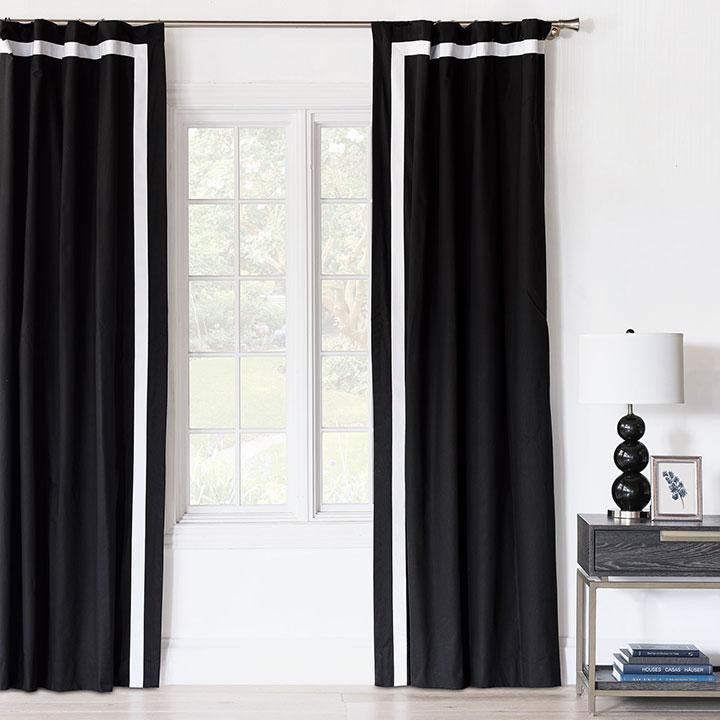 Fullerton Ink Curtain Panel