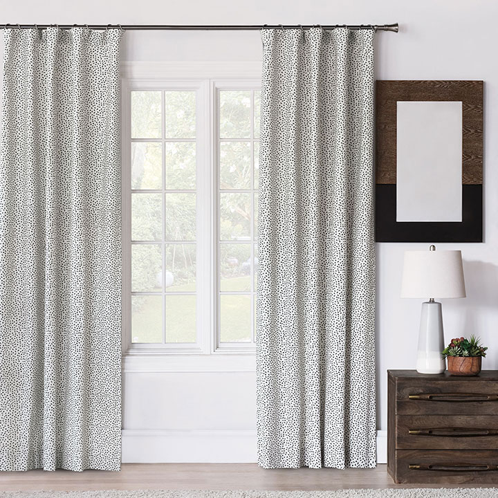 Camden Speckled Curtain Panel
