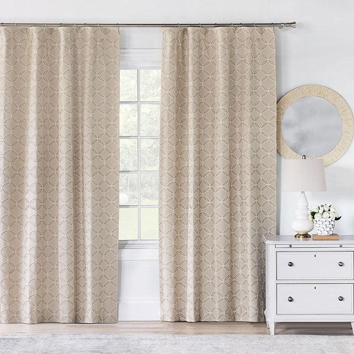 Hadon Natural Curtain Panel