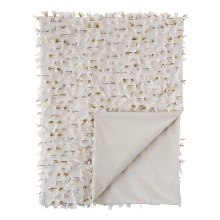 Sprouse Feathery Throw