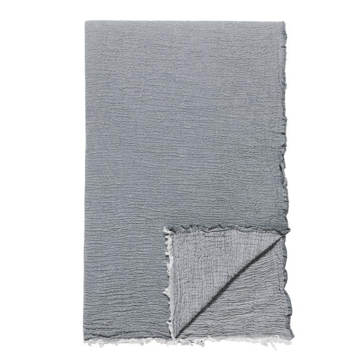 Delaveen 100% Cotton Throw In Gray