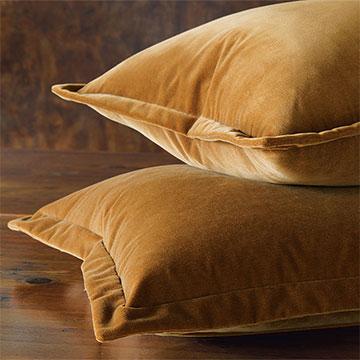 Jackson Solid Velvet - Rust