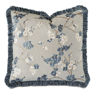 Baynes Embroidered Decorative Pillow