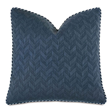 Claire Chevron Decorative Pillow