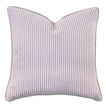 Evie Striped Decorative Pillow
