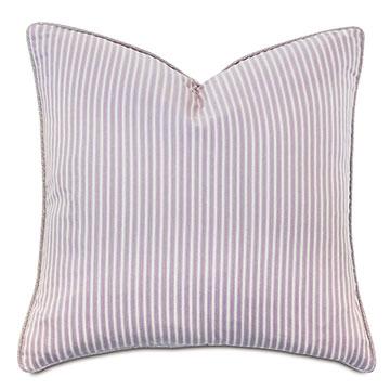 Evie Striped Decorative Pillow