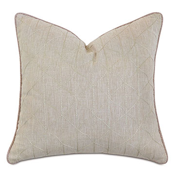 Evie Embroidered Decorative Pillow