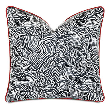 Percival Graphic Print Decorative Pillow
