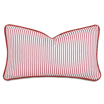 Percival Striped Decorative Pillow