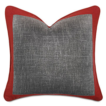 Percival Metallic Decorative Pillow
