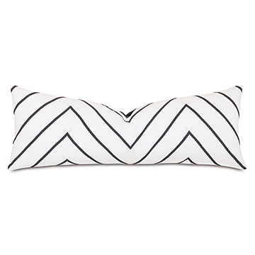 Percival Chevron Decorative Pillow