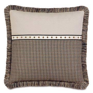 Aiden Nailhead Decorative Pillow