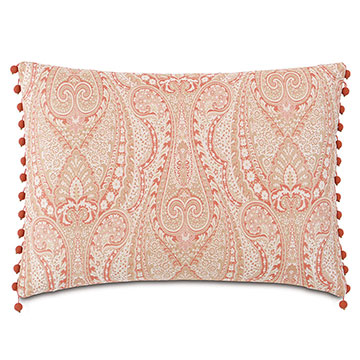 Rena Carnation With Beaded Trim