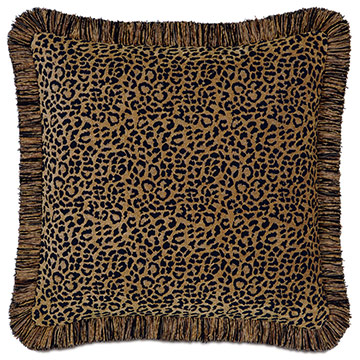Congo Black & Gold Pillow A