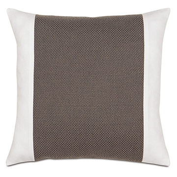 Crosby Charcoal Insert Pillow