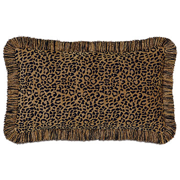 Congo Black & Gold Pillow B