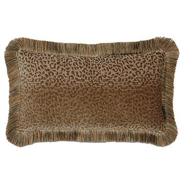 Congo Gold & Sage Pillow B