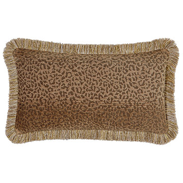 Congo Gold & Brown Pillow B