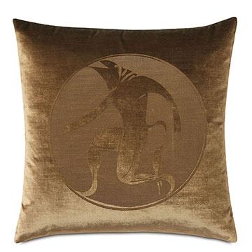 Antiquity Minotaur Decorative Pillow
