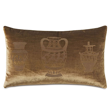 Antiquity Krater Decorative Pillow