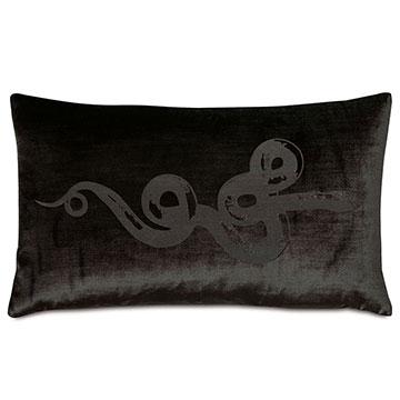 Antiquity Viper Decorative Pillow