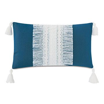 Palermo Tassel Decorative Pillow in Lagoon
