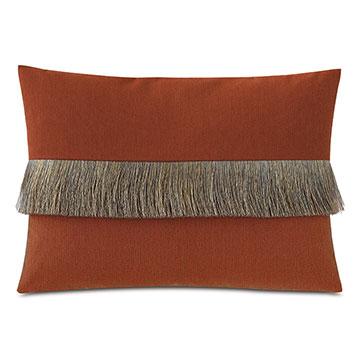 Island Fringe Decorative Pillow