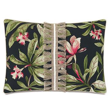 Kamehameha Applique Decorative Pillow