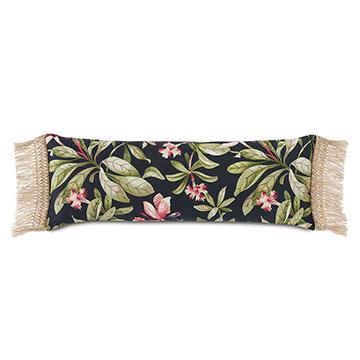 Kamehameha Fringe Edge Decorative Pillow