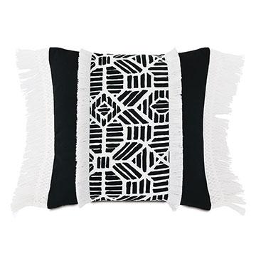 Madaba Fringe Decorative Pillow