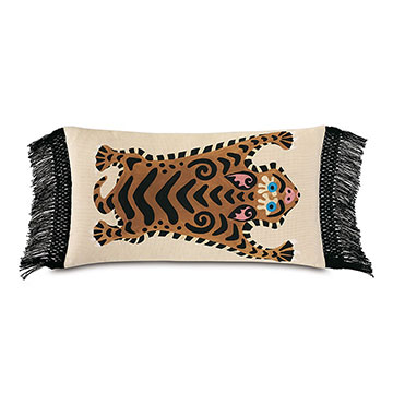 Guster Fringe Decorative Pillow