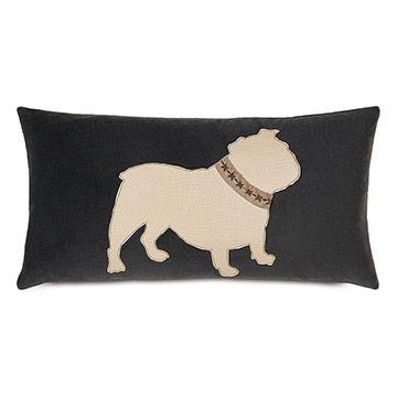 Bulldog With Collar
