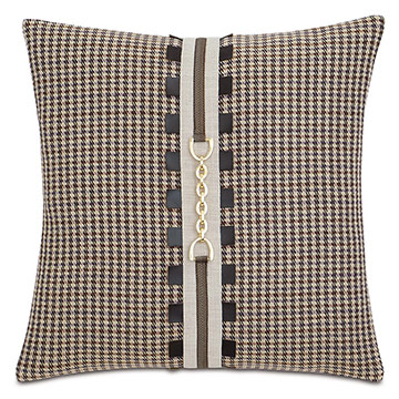 Aiden Houndstooth Decorative Pillow