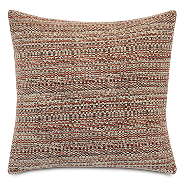 Barnaby Decorative Pillow In Rust