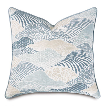 Brentwood Abstract Euro Sham