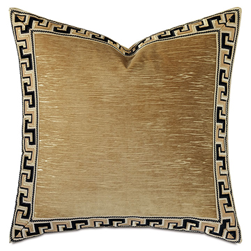 Park Avenue Greek Key Decorative Pillow
