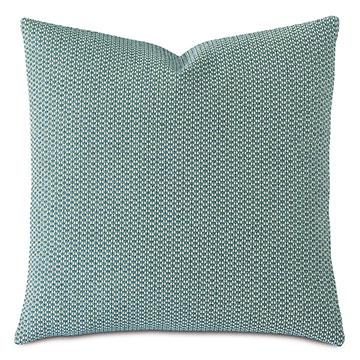 Twin Palms Textured Decorative Pillow