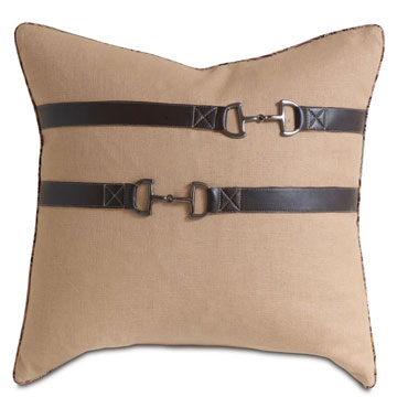 Filly Straw With Buckles