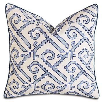 Indigo Decorative Pillow