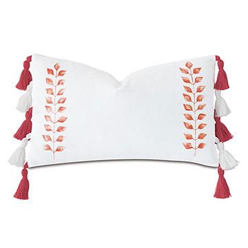 St Barths Handpainted Decorative Pillow
