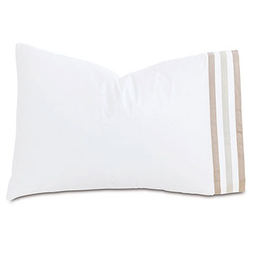 Watermill Taupe Pillowcase