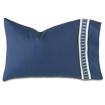 Indigo Standard Sham (Right)