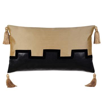 Roxanne Faux Leather Decorative Pillow