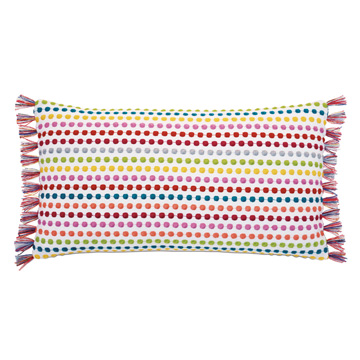 Paloma Embroidered Bolster Pillow