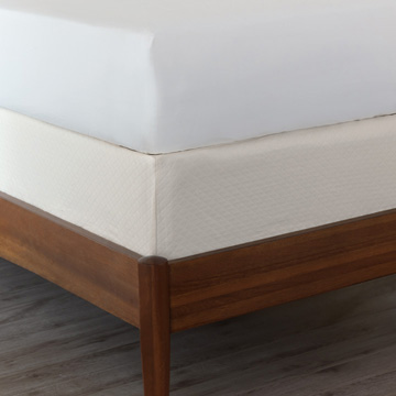 Matera Ivory Box Spring Cover
