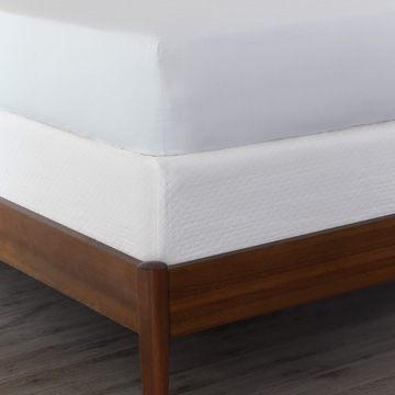 Matera White Box Spring Cover