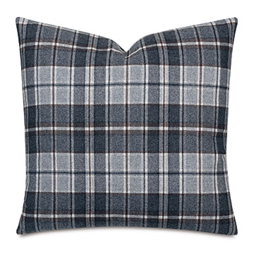 Elgin Slate Decorative Pillow